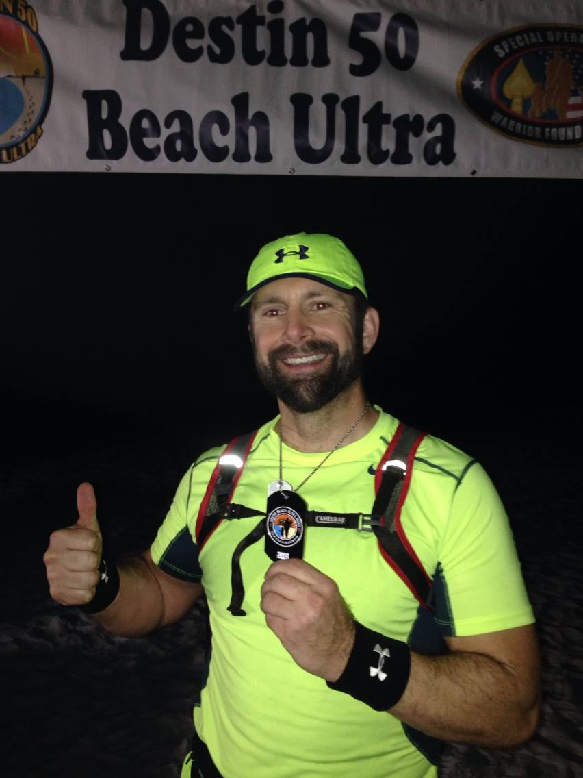 PROSTATE CANCER, BURPEES & ULTRA 50 MILE MARATHON